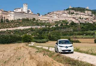 ELECTRIC IN UMBRIA - TOUR CON L'AUTO ELETTRICA