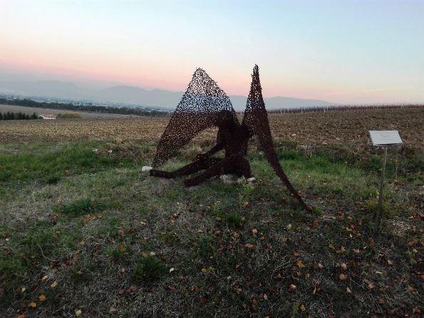 Parco della scultura Bevagna, l'angelo
