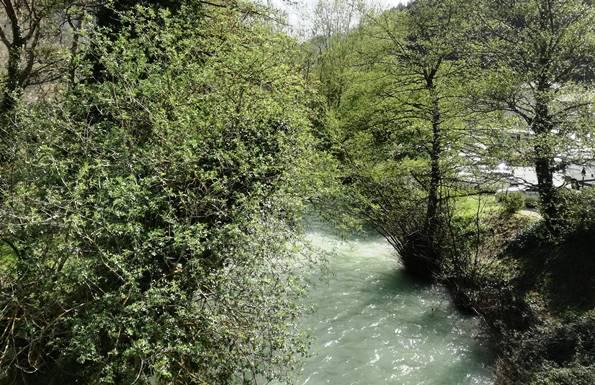 Weekend detox in Umbria - Fiume Nera nei pressi dell'Hotel del Ponte